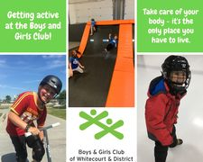 Getting Active At The Boys & Girls Club!